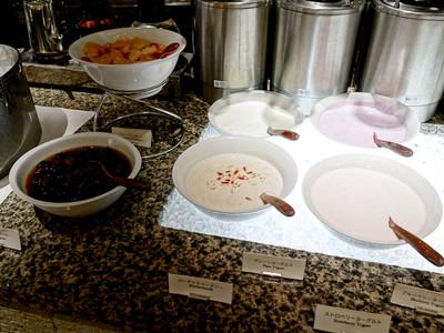 ハイアットリージェンシー東京 『カフェ(CAFFE)』 朝食ブッフェ 2013年5月